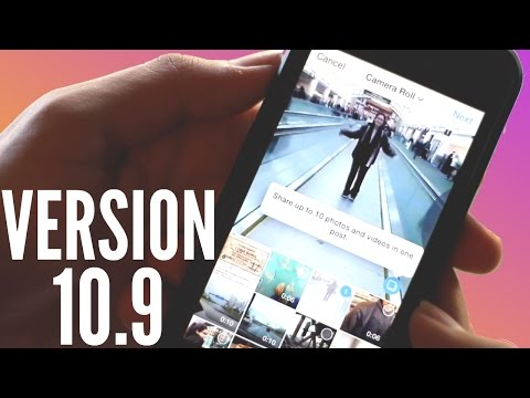 How To Add Multiple Pictures & Videos To One Instagram Post-Update10.9   Instagram Hacks