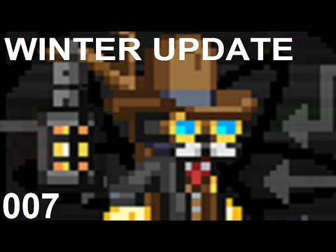 Radiation, Uranium & The Magnetic Crucible - Starbound 007 - Huge Winter Update
