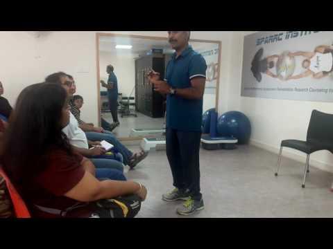 Dr Kannan Pugazhendi's Talk on Fitness