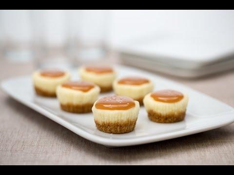 Salted Caramel Cheesecake Minis