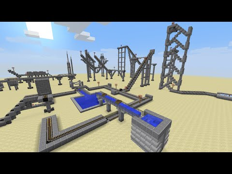Minecraft: Controllable Roller Coaster (1.8.1)