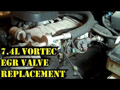 How to Change EGR Valve on 7.4L Vortec Chevy Engine (Step-by-Step Guide)