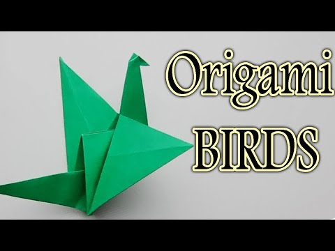 How To Make Paper Bird | Creative Origami Bird Art | Easy Crafting Steps