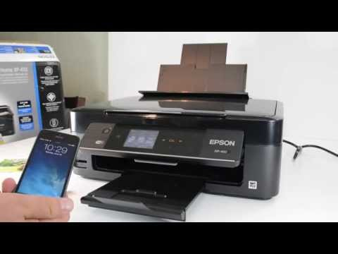 Epson XP-410 Small-in-One Wireless Printer