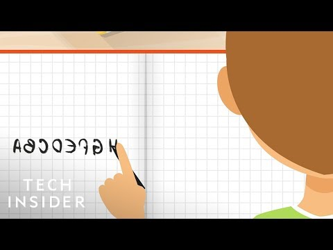 Why Kids Write Their Letters Backwards