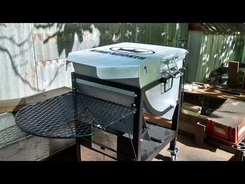 Modifications to a crawfish cooker