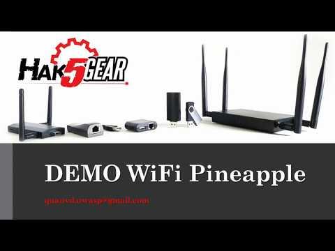 WiFi Pineapple (Module SSLsplit demo)