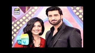 Agha Ali Aur Sarah Khan Ki Good Morning Pakistan Main Shandaar Entry