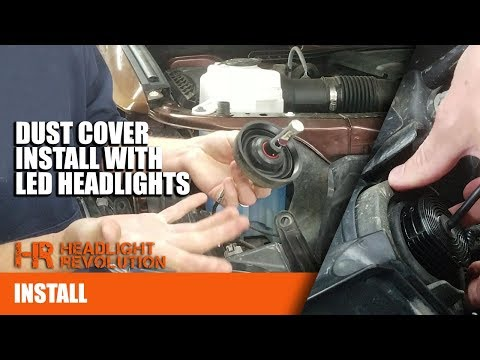 Using Dust Covers With LED Headlight Bulbs On The Toyota Tundra | Headlight Revolution