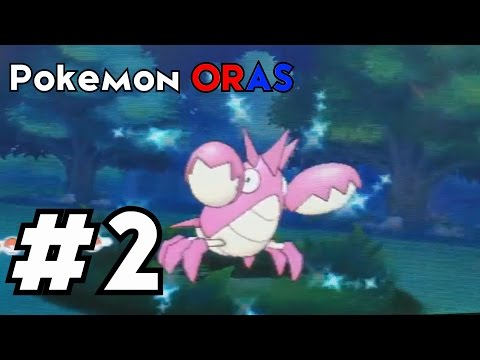 Pokemon Omega Ruby: Shiny Corphish after a Chain of 34!!!!