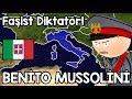 Benito Mussolini Hayatı - Haritalı Hızlı Anlatım