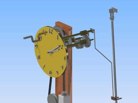 Grandfather Clock Inventor Animation