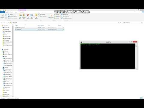 Batch Basics - Load a custom config-file