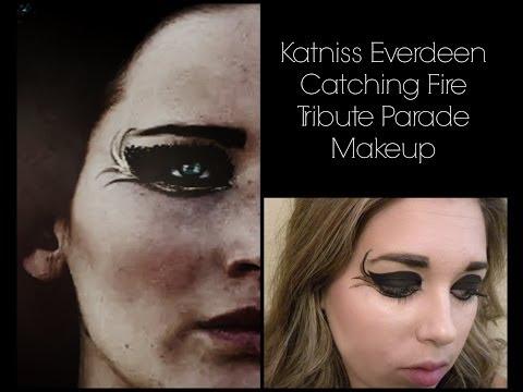 Katniss Everdeen Catching Fire Tribute Parade Makeup