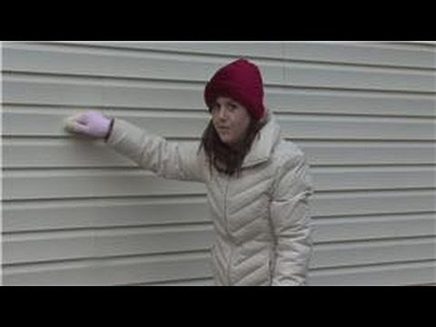 Housekeeping Tips : How to Get a Stain Off Vinyl Siding