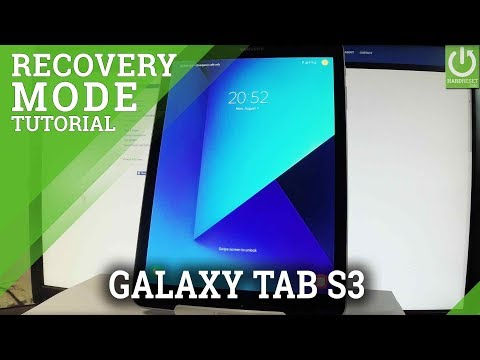 SAMSUNG Galaxy Tab S3 RECOVERY MODE / Enter & Quit SAMSUNG Recovery