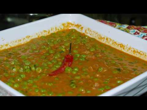 EASY PEASY | GREEN PEA CURRY | FAST!