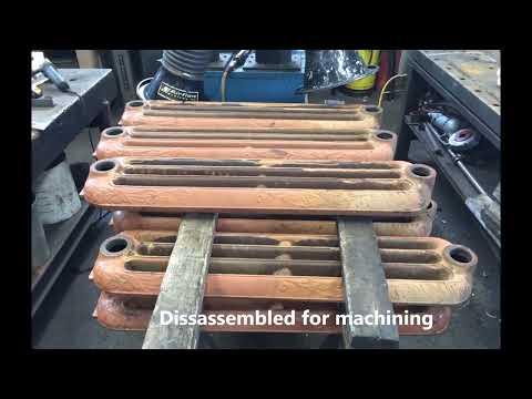 Cast iron radiator restoration