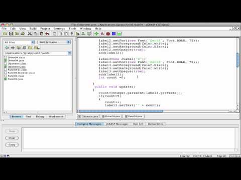 Java Computer Programming: Odometer