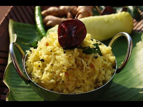 Raw mango rice | Mangai sadam-Simple lunch box recipe