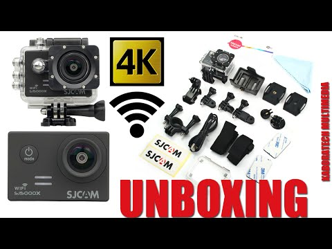 Unboxing Sj5000x Elite Camera