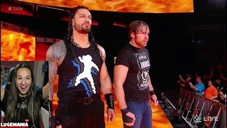 WWE Raw 10/9/17 The Shield REUNITE