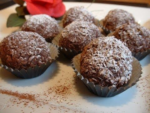 Rum and chocolate truffles recipe