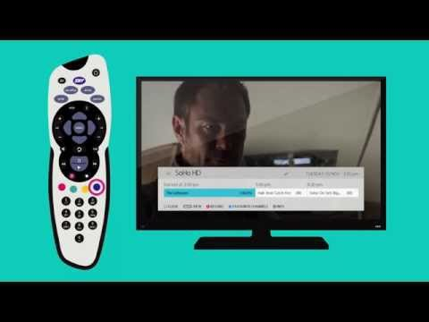 How to set favourite channels on SKY | SKY TV