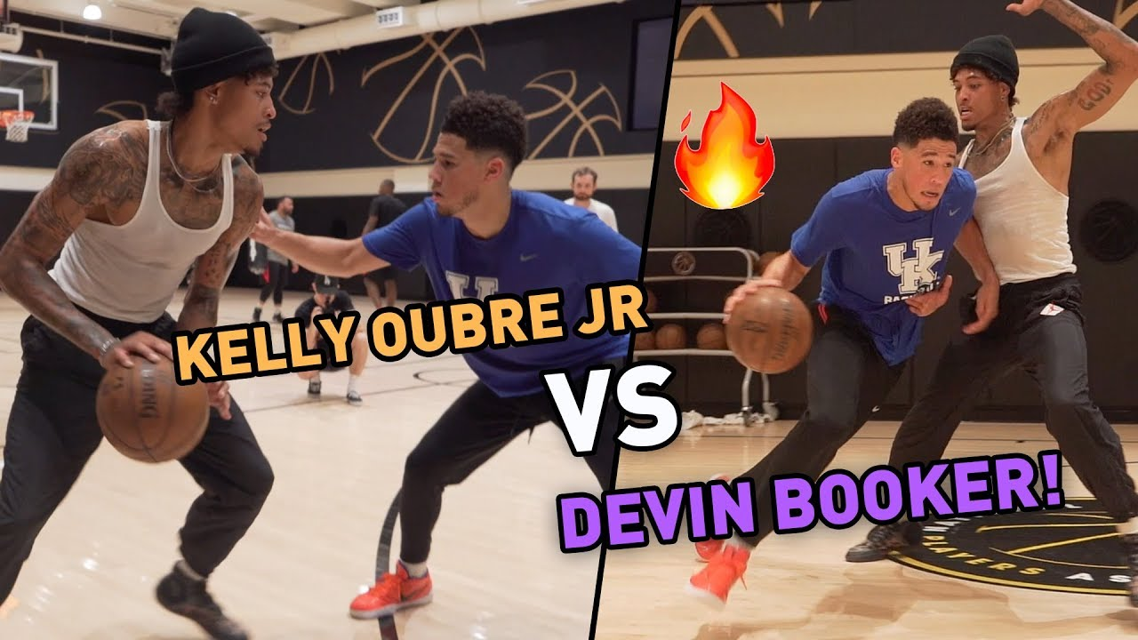 """""""Casual People Can't See It."""" Devin Booker Goes At NEW TEAMMATE Kelly Oubre Jr. In Unseen Hours! 😱"""