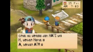 Arti Cinta Harvest moon: Back To Nature