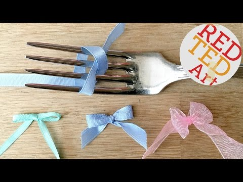 How to make a Fork Bow