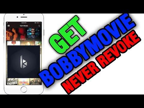 GET BOBBYMOVIE NO REVOKE /NO JAILBREAK - iOS 9/10/11 FREE