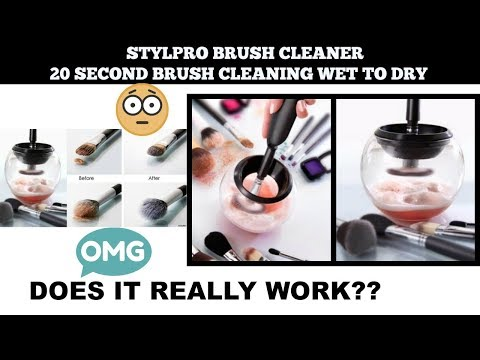 20 Sec Brush Cleaning Wet To Dry!!WTF!/(StylPro) /Gen Oz Vlogs