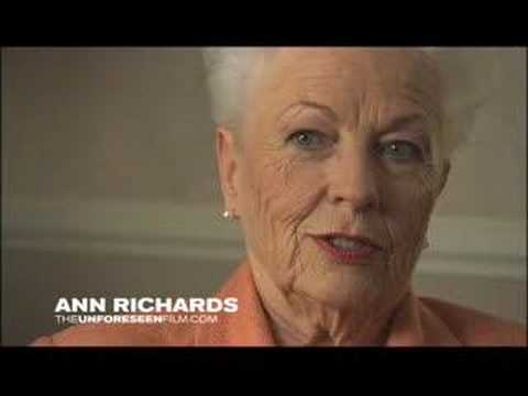 Ann Richards - On Texas, Petrochemicals and Pollution