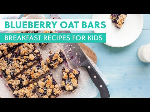 Blueberry Oat Bars - Delicious and Super Healthy Recipes Perfect for Little Hands