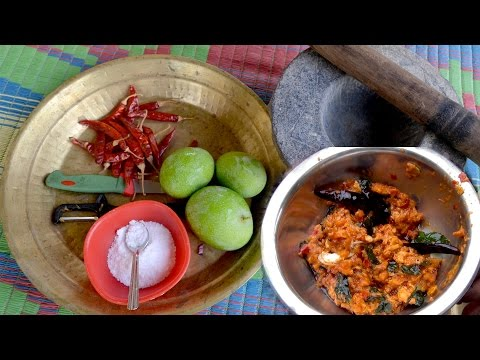 Mango Chutney | Mouth Watering Spicy Sour Mango Chutney - Aam ki Chutney | Food Cooking Videos