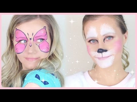 Face Painting for Kids-Bunny 🐰& Butterfly 🌸/elizabethstyle