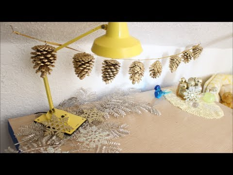 DIY: Pine Cone Garland DamaV425