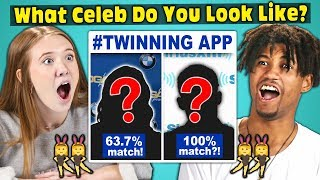Download Teens Try To Find Their Celebrity Twin! (#TWINNING APP) Video