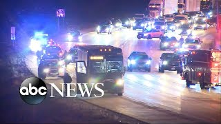 Passengers on Greyhound bus held at gunpoint