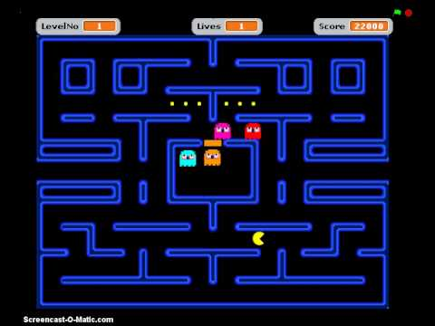 pacman for scratch walkthrough