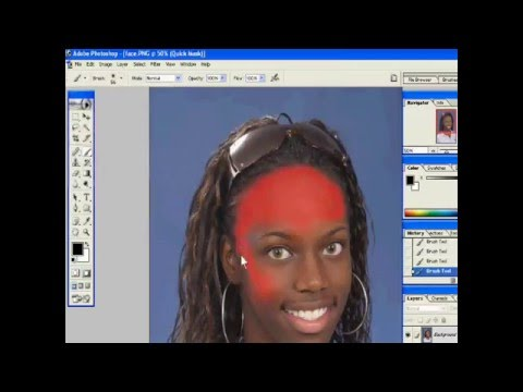 How to Change Face Color in Photoshop