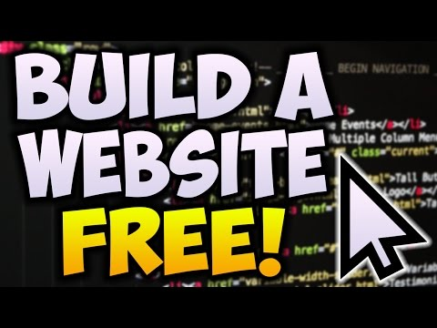 How To Make A Website For Free! 2017 - Create A Professional Website Tutorial
