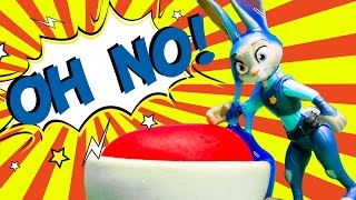Download ZOOTOPIA Zootopia Officer Judy Hopps in Trouble SLIME ToyS Parody Video