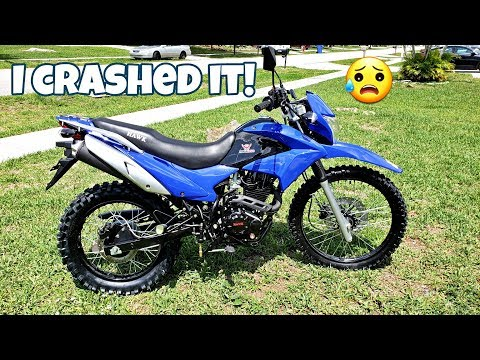 America's Most Affordable Street Legal Motorcycle - Hawk Enduro 250 -