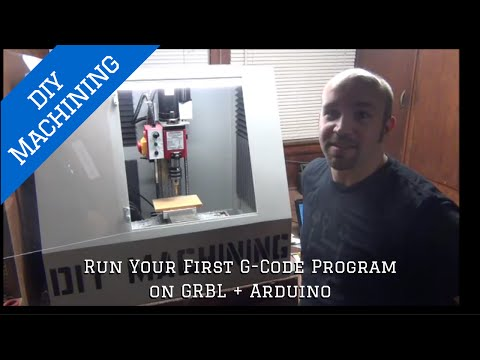 How to Run Your First G Code Program on GRBL + Arduino