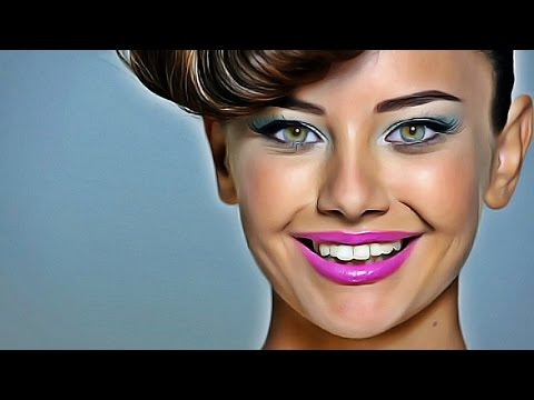 Photoshop Digital Painting - How To Transform A Photo Into Digital Paint Effect - Photoshop Tutorial