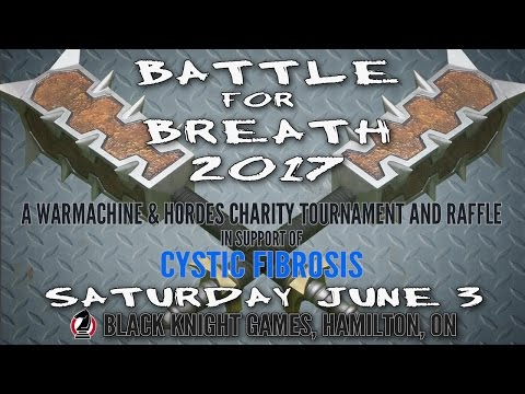 Battle For Breath 2017 - Promo 2 - Raffle Prizes (so far...)