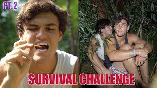 48 HOUR SURVIVAL CHALLENGE PART 2 / FACING THE STORM