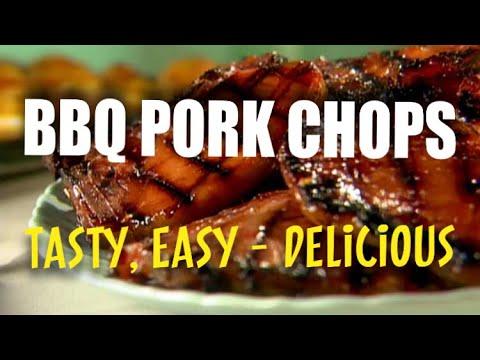 BBQ PORK CHOPS   FOOD N' FUN 🐷🍽